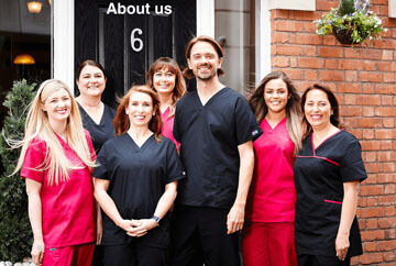 360 dental team photo